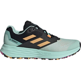 adidas TERREX Speed Flow Trail Running Shoes Women, clear mint/hazy orange/screaming pink